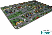 Spiel Spass HEVO® Strassen Kinderteppich | Spielteppich 135x200 cm