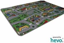 Spiel Spass HEVO® Strassen Kinderteppich | Spielteppich 200x280 cm
