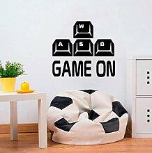 Spiel wandaufkleber tastatur controller spiel