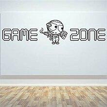 Spielbereich PS4 Art Decal Wandbild Aufkleber