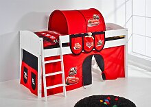 Spielbett Bett -LANDI - CARS -Teilbar - Kiefer