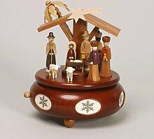 Spieldose Spieluhr mit Christi Geburt 18 cm