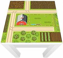 Spielfolie für LACK Tisch 54x54 Bauernhof (Möbel nicht inklusive)