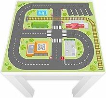 Spielfolie für LACK Tisch 54x54 cm Stadtleben (Möbel nicht inklusive)