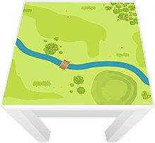 Spielfolie für LACK Tisch 54x54 cm Wald & Wiese (Möbel nicht inklusive)