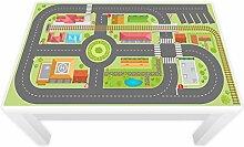 Spielfolie für LACK Tisch 89 x 54 cm Stadtleben (Möbel nicht inklusive)