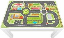 Spielfolie für LACK Tisch groß 117 x 77 cm Stadtleben (Möbel nicht inklusive)
