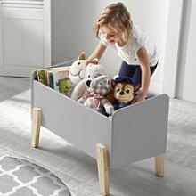 Spielkiste Spielzeugbox SLIGO-12 mit 3 Fächern