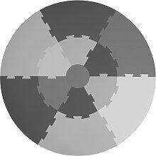 Spielmatte  grau