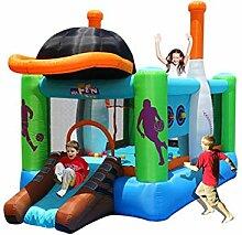 Spielplatz Fitnessgeräte Aufblasbares Schloss