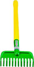Spielstabil Gartengerät Rechen mit Stiel 56 cm [Kinderspielzeug]