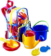 Spielstabil Rucksack mit Sandspielzeug [Kinderspielzeug]