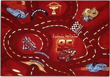 Spielteppich Cars Rot 95 x 133