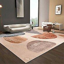 spielteppich Junge Wohnzimmer rosa Teppich Moderne