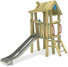 Spielturm GIANT Villa - Premium Edelstahl 100