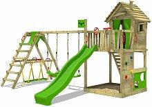 Spielturm HappyHome Hot XXL mit SurfSwing Garten