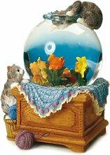 Spieluhrenwelt 25077 Schneekugel Aquarium