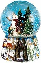 Spieluhrenwelt 46069 Schneekugel Schneemann