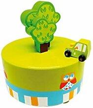 Spieluhrenwelt Auto Baum Holz Musik Box, spielt It