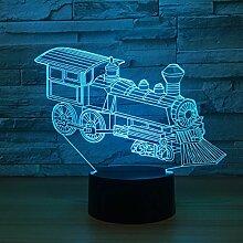 Spielzeugbahnen 3D Optische Illusion LED Lampe