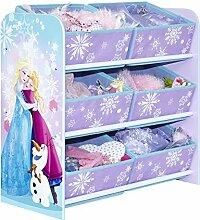 Spielzeugregal Eiskönigin/Frozen - Kinderzimmerregal - Lila
