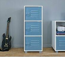 Spielzeugregal Wringley LoftDesigns Farbe: Blau