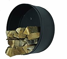 SPINDER Banshee Kaminholz Aufbewahrung Stahl
