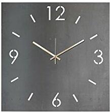 Spinder Design Time Wanduhr Quadrat 40x40 -