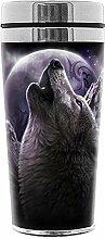 Spiral Wolf Chi Kaffee-Becher Mehrfarbig
