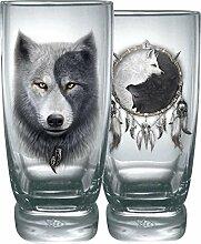 Spiral Wolf Chi Trink-Glas-Set Standard