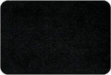 Spirella 10.16220  WC-Vorleger ohne Ausschnitt 55 x 65 cm, Highland Black