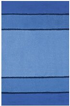 Spirella 1014482 Calma Badteppich 55 x 65 cm blau