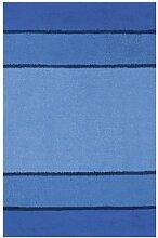 Spirella 1014483 Calma Badteppich 60 x 90 cm blau