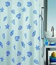 Spirella Concha Marine Textil-Duschvorhang