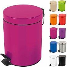 Spirella Kosmetikeimer Sydney Pink Mülleimer