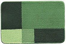 Spirella Prisco Green Grün Badteppich Badematte 60x90cm. Vorleger Swiss Design