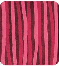 Spirella Twist Red Rot Badteppich Badematte