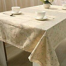 Spitze Tischdecke, 90X90CM für Home Hotel Café