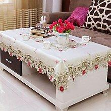 Spitze Tischdecke, Europäischen Tee Restaurant