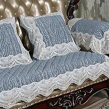 Spitzen wildleder couch cover einfach und moderne sofakissen europäischen tuch anti-rutsch hussen sofa sofabezug für wohnzimmer-cover-sets für sofa-A 90x180cm(35x71inch)