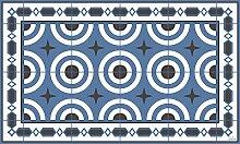 Splash Alice Teppich, Vinyl, blau 200 x 60 x 0,15