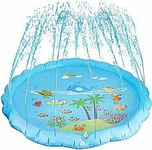 Splash Kids Sprinkler Pad-Runde, Splash Pad