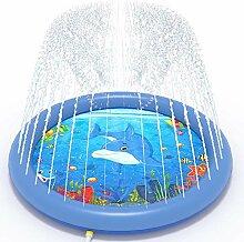Splash Pad, 170CM Sprinkler Wasser-Spielmatte