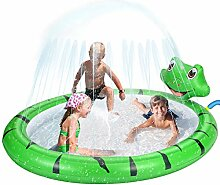Splash Pad Aufblasbare Sprinklerpool, 170cm Party