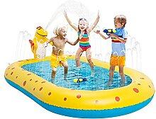 Splash Pad & Pool, Sprinkler Wasser-Spielmatte,