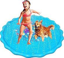 Splash Pad, Sprinkler Play Matte,170CM