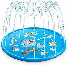 Splash Pad, Sprinkler Play Matte 68in/170cm,