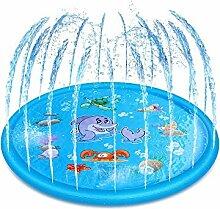 Splash Pad,Sprinkler Play Matte, Sommer Garten