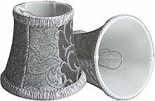 Splink 2pcs Lampenschirm Clip-On E12/E14 Stoff