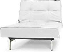Splitback - Sessel - Kunstleder Weiß